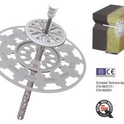 Dibluri pentru fixarea termoizolatiilor la fatade - ETICS