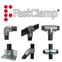 Fast Clamp: Fitinguti pentru rafturi si balustrade ECO