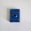 Calote de rigidizare, saibe EPDM, capacele acoperire, bureti inchidere coama, etc. - Calota aluminiu cu EPDM 26mm RAL 5010 cutie 1000 bc - 26 mm - 1000 bc